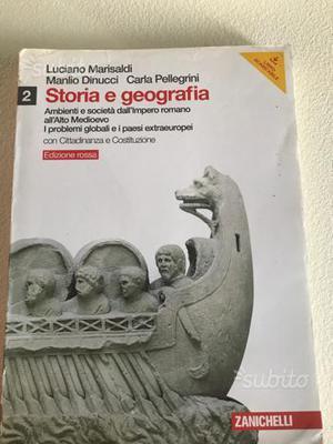 Libro 'Storia e geografia'