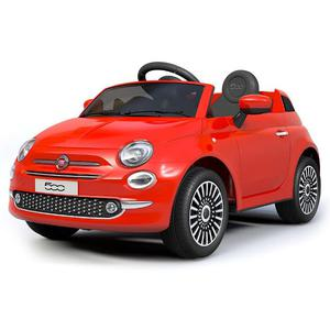 Macchina Elettrica Per Bambini 12v Fiat 500 Rossa