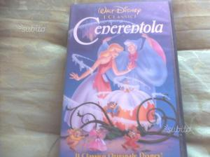 Cartoni animati Walt Disney ORIGINALI in VHS