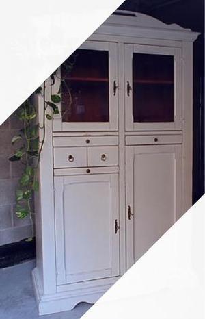 Credenza in stile provenzale legno massello