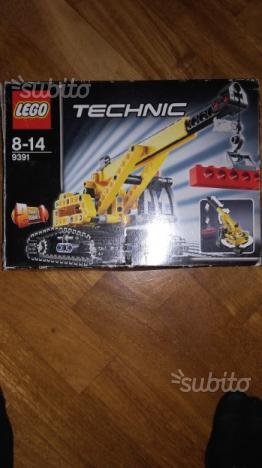 Lego technic  gru e bulldozer
