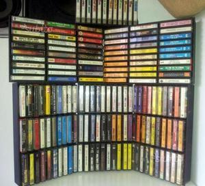 Lotto dischi 45 giri + audio cassette originali