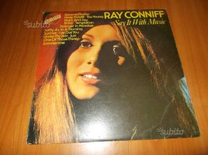 """Lp 33 giri vinile Ray Conniff """" Say it with music"""