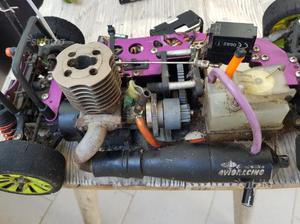 Macchina a motore a scoppio