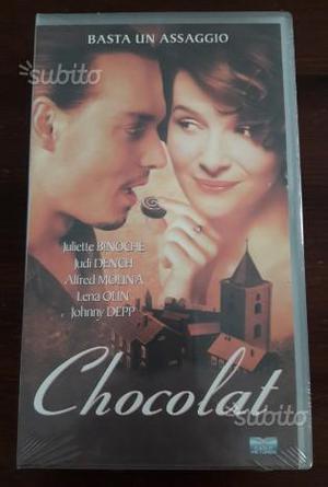 Videocassetta VHS del film Chocolat Nuova