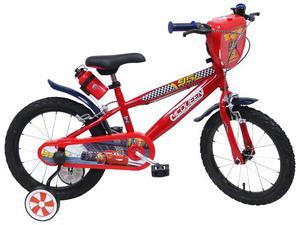 """Bicicletta Per Bambino 16"""" 2 Freni Cars 3"""