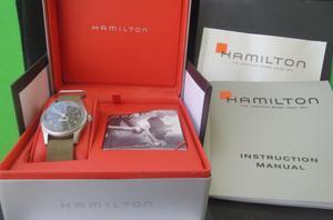 Orologio vintage anni 80 Hamilton Khaki militare carica