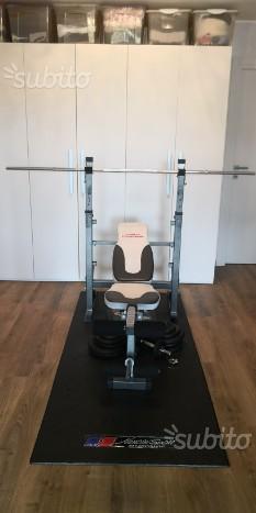 Panca con pesi+ spinning
