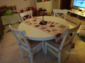 INGATORP tavolo allungabile 4 sedie