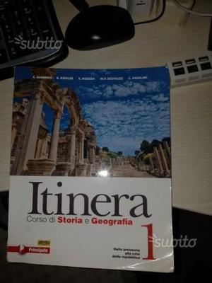 Itinera. Corso di storia e geografia vol.1 e vol.2