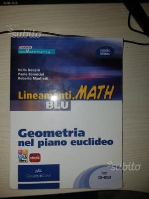 Lineamenti.math blu. vol.1, vol.2, geometria