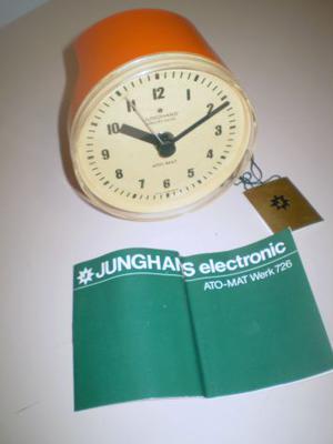 Orologio/Sveglia + Contaminuti Junghans (Made in Germany)