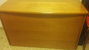Regalo cassettone x color noce cm 130x60x80