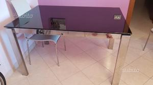 Tavolo allungabile calligaris + 6 sedie