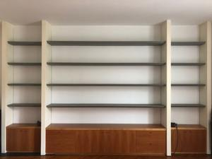 Vendo libreria in ferro e legno (anche solo una parte)