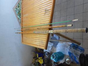 canna da pesca in bamboo