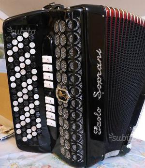 Fisarmonica Cromatica 4/5 PAOLO SOPRANI 120 bassi