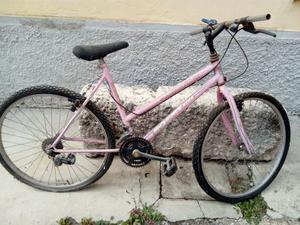 eu bicicletta da donna muntain bike usata da sistemare