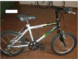 Bici mtb silver star 6-8 anni. Bicicletta con rapporti al