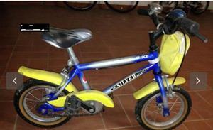 Bici mtb silver star per bimbo tra i 4-6 anni. Bici usata ma