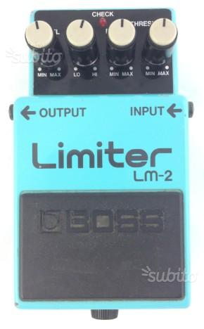 Boss limiter made in japan