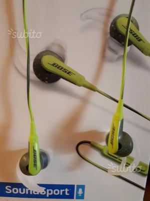 Cuffie bose soundsport in-ear