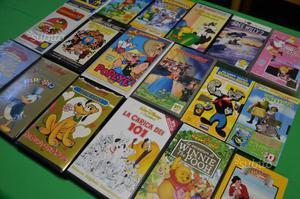 Lotto 18 VHS Cartoni Animati originali
