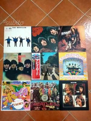 Lotto 9 LP JAPAN anni '70