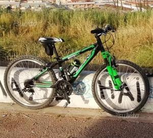 Mountain bike Carnielli 24 forcella ammortizzata