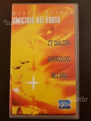 Omicidio nel Vuoto W. Snipes  VHS Originale