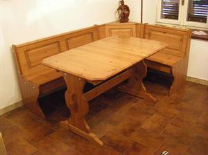 Cassapanca angolare con tavolo la spezia posot class - Misure tavolo 6 posti ...