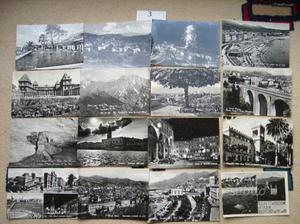 48 Cartoline in bianco e nero viaggiate