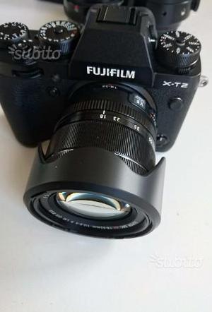 Fuji xt2 con ottica  mm usata pari al nuovo