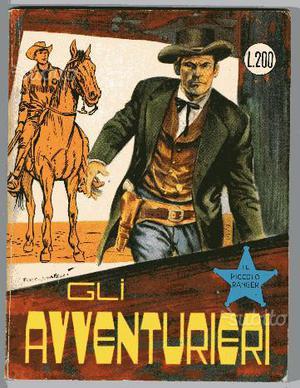 Il piccolo ranger 44 cowboy - gli avventurieri