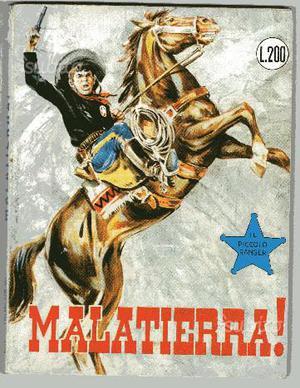 Il piccolo ranger 53 collana cowboy - malatierra
