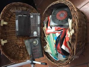 Radio antico Dischi anni 40
