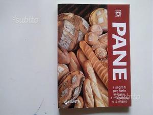 3 libri di cucina: 2 per fare il pane e 1 sulla c