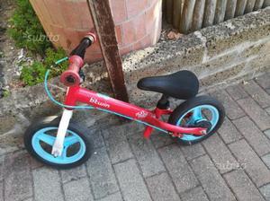Bici bimbo bimba no pedali Pedagogica 2 - 3 anni