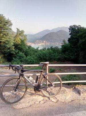 Bici da corsa Pinarello gan disk