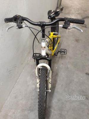 """Bicicletta mtb da 20"""" forcella ammortizzata"""