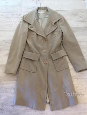 Cappotto color vinacciamalva 40 lana  f05c2d7576e6