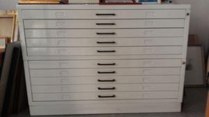 Cassettiera In Metallo Per Officina.Cassettiera In Metallo Per Formati A1 Posot Class