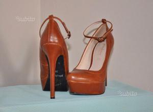 Scarpe pizzo peep toes originali guess n 37 | Posot Class
