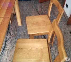 Vendo tavolo da cucina+ 6 sedie