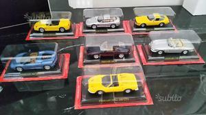 7 modellini Ferrari 1:43 nuovi sigillati