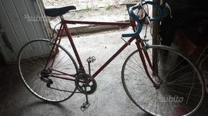 Bici da corsa vintage raphael geminiani
