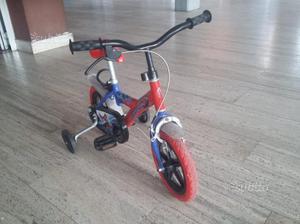 Bicicletta per bambino da 12 pollici spider-man