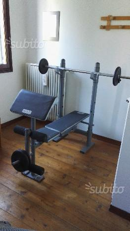 Panca fitness body building BM 210