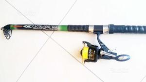 Canna da pesca Trabucco più mulinello nuovo