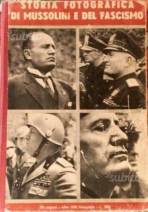 Libro su Benito Mussolini